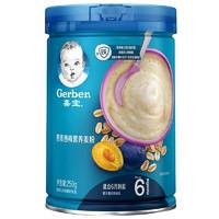 Gerber 嘉宝 宝宝燕麦西梅麦粉 2段 250g