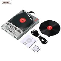 REMAX 睿量 黑胶唱片式 10W 无线充电器