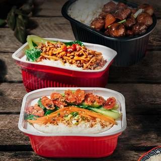 锅圈食汇 自热米饭大份量方便速热网红速食食品懒人即食煲仔饭