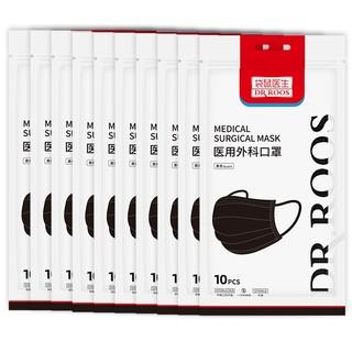 DR.ROOS 袋鼠医生 一次性医用外科口罩 灭菌级 100只装