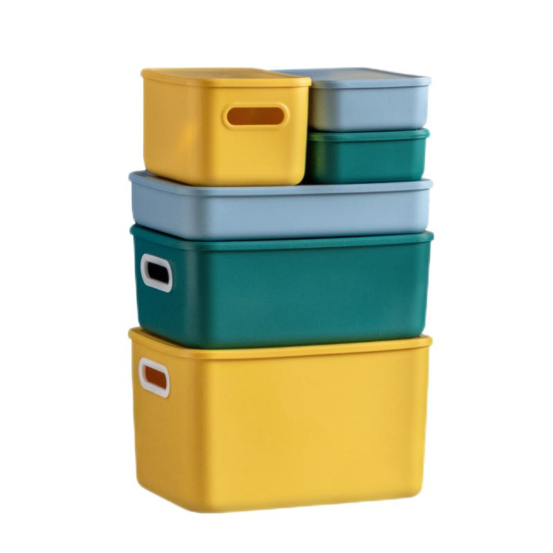 Citylong 禧天龙 桌面收纳盒 2.7L 樱草黄