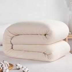 pierre cardin 皮尔·卡丹 100%新疆纯棉花被四季通用被全棉被芯棉絮春秋被褥
