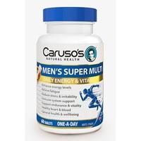 carusos 男性复合维生素 60片
