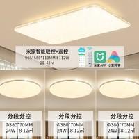 NVC Lighting 雷士照明 满天星系列 米家语音智能吸顶灯套餐 三室一厅 112W+24W