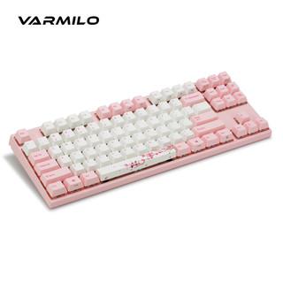 VARMILO 阿米洛 樱花粉轴 静电容V2 机械键盘 68键