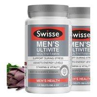 Swisse 斯维诗 男士复合维生素 120片*2瓶