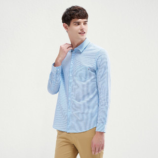 SEVEN 柒牌 116A38060 男士长袖衬衫