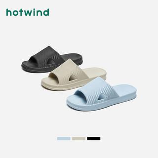 hotwind 热风 2021年夏季新款男士时尚拖鞋H31M1606