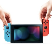 Nintendo 任天堂 日版 Switch游戏主机 续航增强版红蓝+健身环大冒险套装