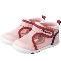 PLUS会员:Mini Balabala 迷你巴拉巴拉 儿童透气学步鞋