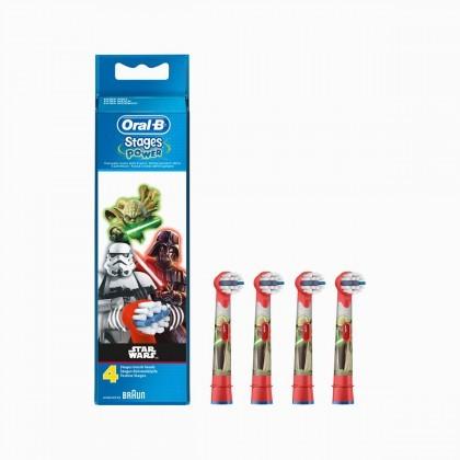 20点开始 : Oral-B 欧乐-B EB10-4 电动牙刷刷头