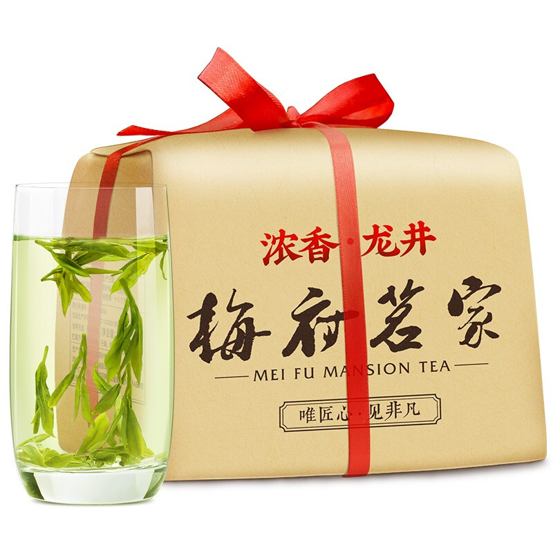 梅府茗家 浓香龙井茶 250g
