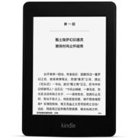 Amazon 亚马逊 Kindle Paperwhite 6英寸墨水屏电子书阅读器 Wi-Fi版 4GB 黑色