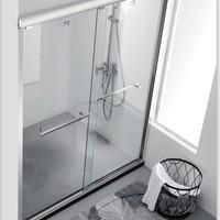 ARROW 箭牌卫浴 AEO6L1515 一字型淋浴房(1固1移)