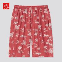 6日0点:UNIQLO 优衣库 434976 男装全棉松紧短裤