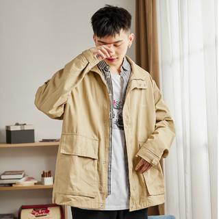 Tonlion 唐狮 男士外套工装外套