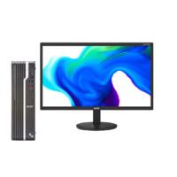 acer 宏碁 商祺 SQX4270 21.5英寸 台式机 黑色(酷睿i5-9400、核芯显卡、8GB、1TB HDD、风冷)