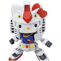 BANDAI 万代 SD EX Hello Kitty猫 联动 RX-78-2、元祖高达 拼装