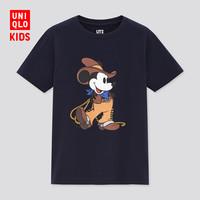 UNIQLO 优衣库 迪士尼联名 儿童印花T恤