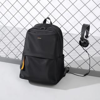 GOLF 高尔夫 15.6寸电脑包大容量学生书包男士双肩背包旅行双肩包男包