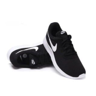NIKE 耐克 Tanjun 女子跑鞋 812655-011 黑白 39