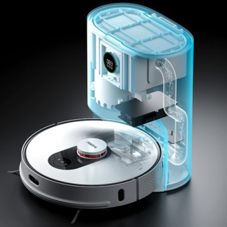 roidmi 睿米 SDJ01RM 扫拖一体扫地机器人 经典白
