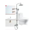 HEGII 恒洁 HCO1632PTOE+BC6047-080+HMF122-582ED 卫浴组合套装