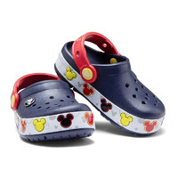 crocs 卡骆驰 卡洛班系列 204994-410 儿童闪灯款拖鞋 深蓝 26(155mm)