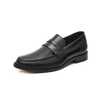 Clarks 其乐 clarks其乐男鞋男士一脚套休闲皮鞋乐福鞋正装鞋简约舒适便鞋男