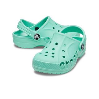 Crocs 卡骆驰 童鞋 男女儿童鞋卡骆驰儿童沙滩洞洞鞋 浅草绿