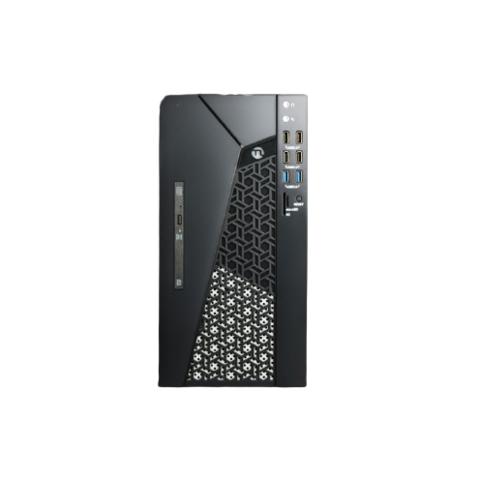 NINGMEI 宁美 国度 卓 CR700 办公台式机电脑主机(i3 10100 8G 512G WIFI6 正版系统 光驱 三年上门)