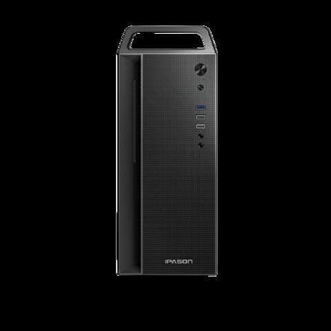 IPASON 攀升 商睿2Pro 设计师办公商用台式电脑主机(十代i5-10400F 16G 256GSSD+2TB RX550-4G独显 键鼠 3年上门)