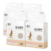FUWAN 福丸 豆腐猫砂 3.6kg*4