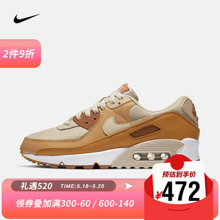 NIKE 耐克 女子 NIKE AIR MAX 90 运动鞋 CZ3950 CZ3950-101 36