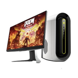 ALIENWARE 外星人 Alienware)R10 水冷游戏台式电脑主机(AMD R5-5600X 16G 512G+1T RTX3060Ti)+27英寸显示器8165W
