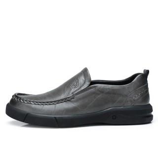 CAMEL 骆驼 A832155840  男士休闲皮鞋