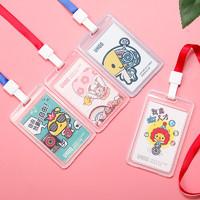 UHOO 优和 蘑菇点点系列 卡通证件卡套 带挂绳