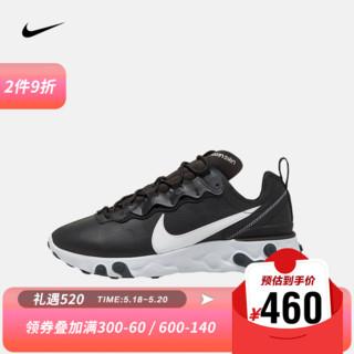 NIKE 耐克 男子 NIKE REACT ELEMENT 55 LTHR 运动鞋 CU1465 CU1465-001 42