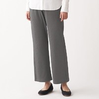 MUJI 无印良品 女士罗纹休闲裤