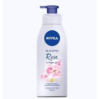 NIVEA 妮维雅 精油玫瑰香氛身体乳 400ml