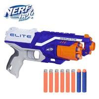Hasbro 孩之宝 NERF热火 男孩儿童玩具枪礼盒 户外玩具 精准强力小牛发射器E0392(定制)