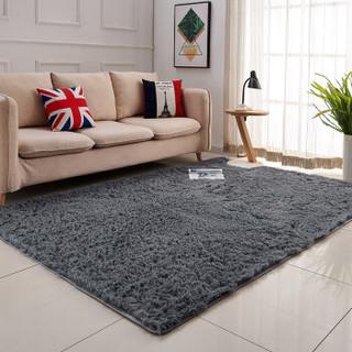 KAYE 卡也 长毛地毯家用加厚 70*160cm