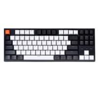 22点开始:J.ZAO 京东京造 C1 87键 有线机械键盘  红轴 单光