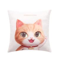 淘宝心选 星秀猫方形抱枕 45*45cm