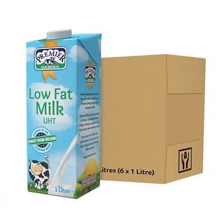 PREMIER DAIRIES 爱尔优 1L*6盒 低脂牛奶 成人健身高钙纯牛奶儿童 爱尔兰原装