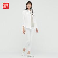 UNIQLO 优衣库 女装 法国麻衬衫(长袖) 433622