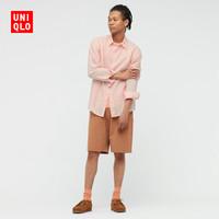 UNIQLO 优衣库 436419 男款法国麻衬衫