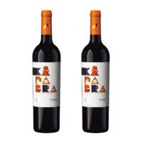 PLUS会员:Kadabra 魔术兔 阿根廷魔术兔(Kadabra)干红葡萄酒 马尔贝克750ml*2支