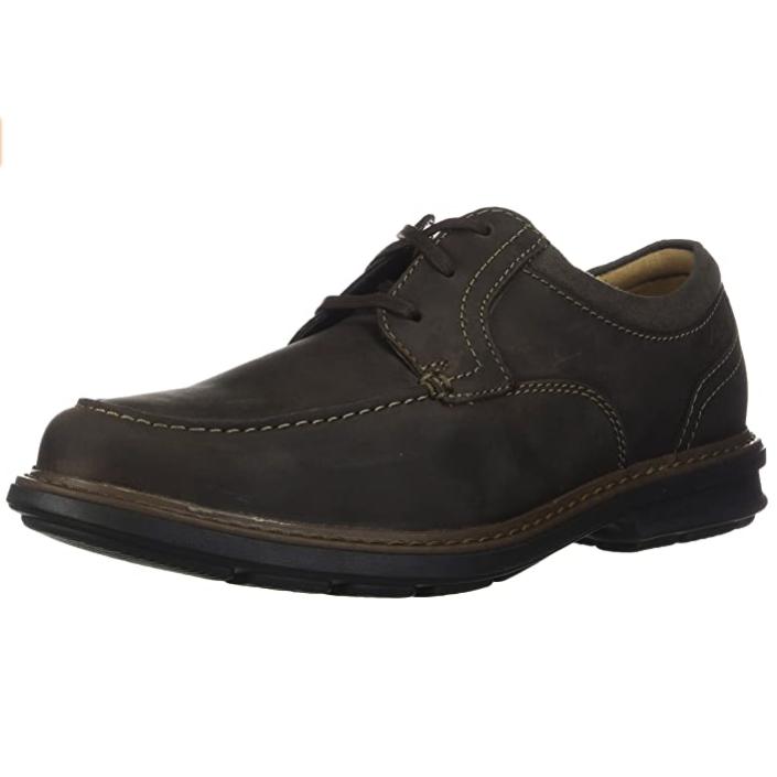 Clarks 其乐 Rendell Walk 26146417 男士牛津布皮鞋