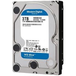 Western Digital 西部数据 WD) 蓝盘 3TB SATA6Gb\s 256M  5400转台式机电脑机械硬盘
